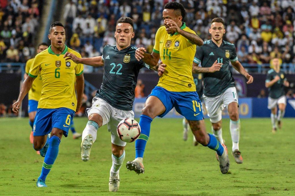 ไฮไลท์ฟุตบอล บราซิล - อาร์เจนติน่า